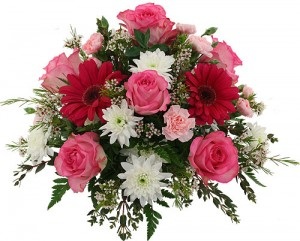 anniversary floral arrangement