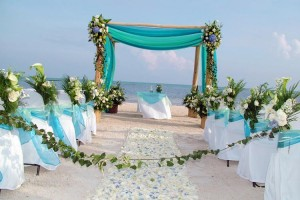 rockingham florist beach reception